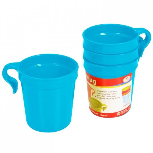 Bộ ly uống nước 4 cái/bộ 320ml (8x14cm)  Mã số: PN118X4-P3