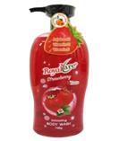 Sữa tắm hạt tẩy da chết Royalcare 745g (hương dâu)