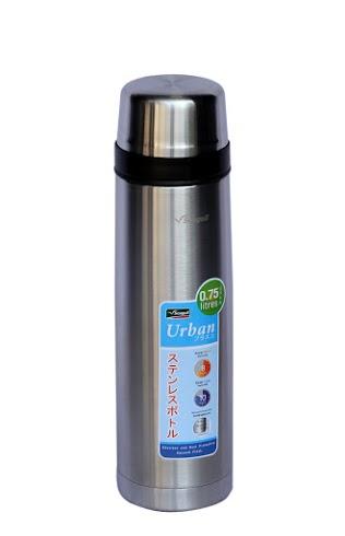 Bình giữ nhiệt Urban 750ml (màu trắng - 8.2x8.2x27.3cm). Mã số: 150000688