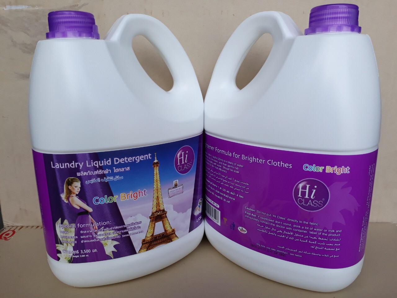 Nước giặt Hiclass 3500ml (Color bright - tím)