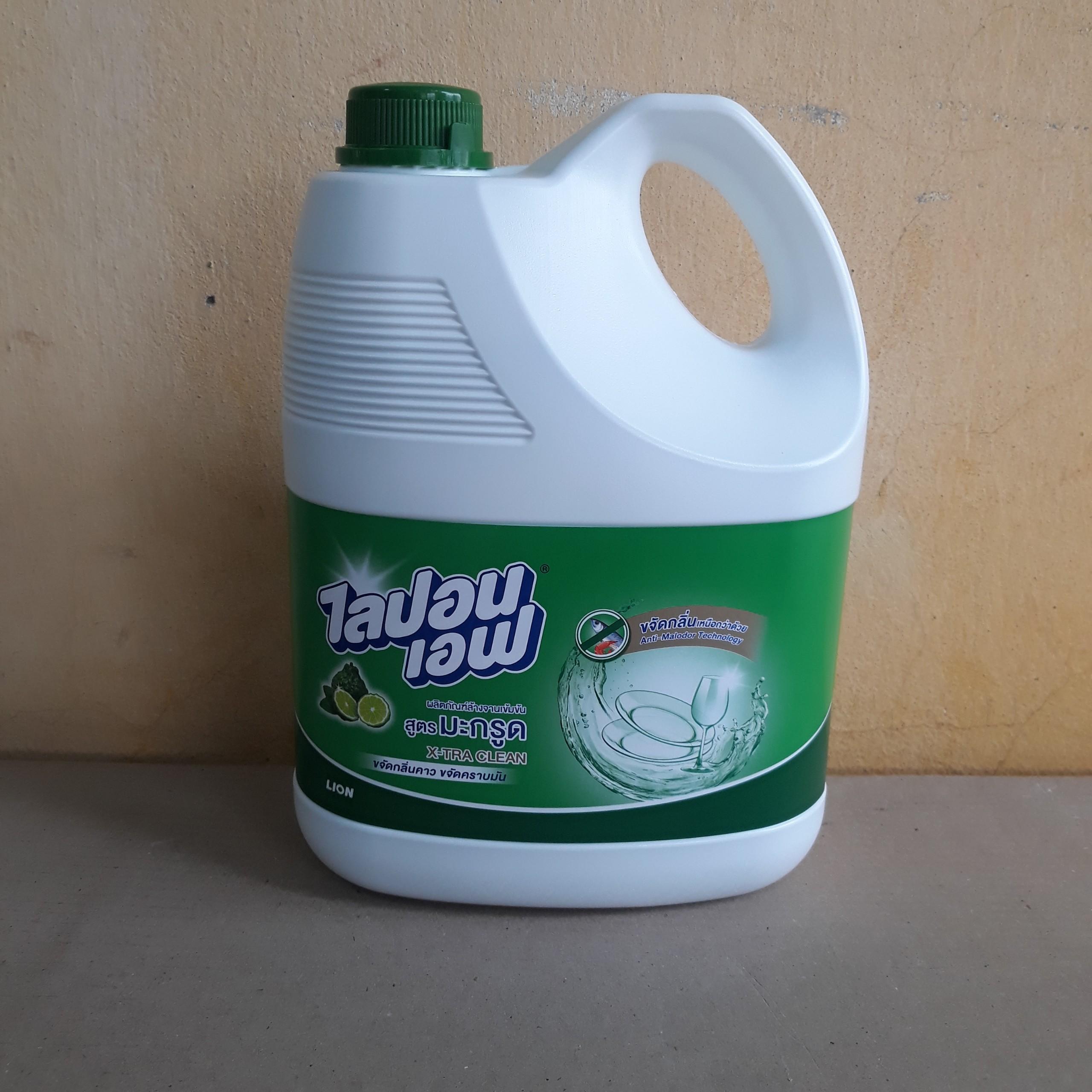 Nước rửa lý tách (hương Bergamot) 3600ml