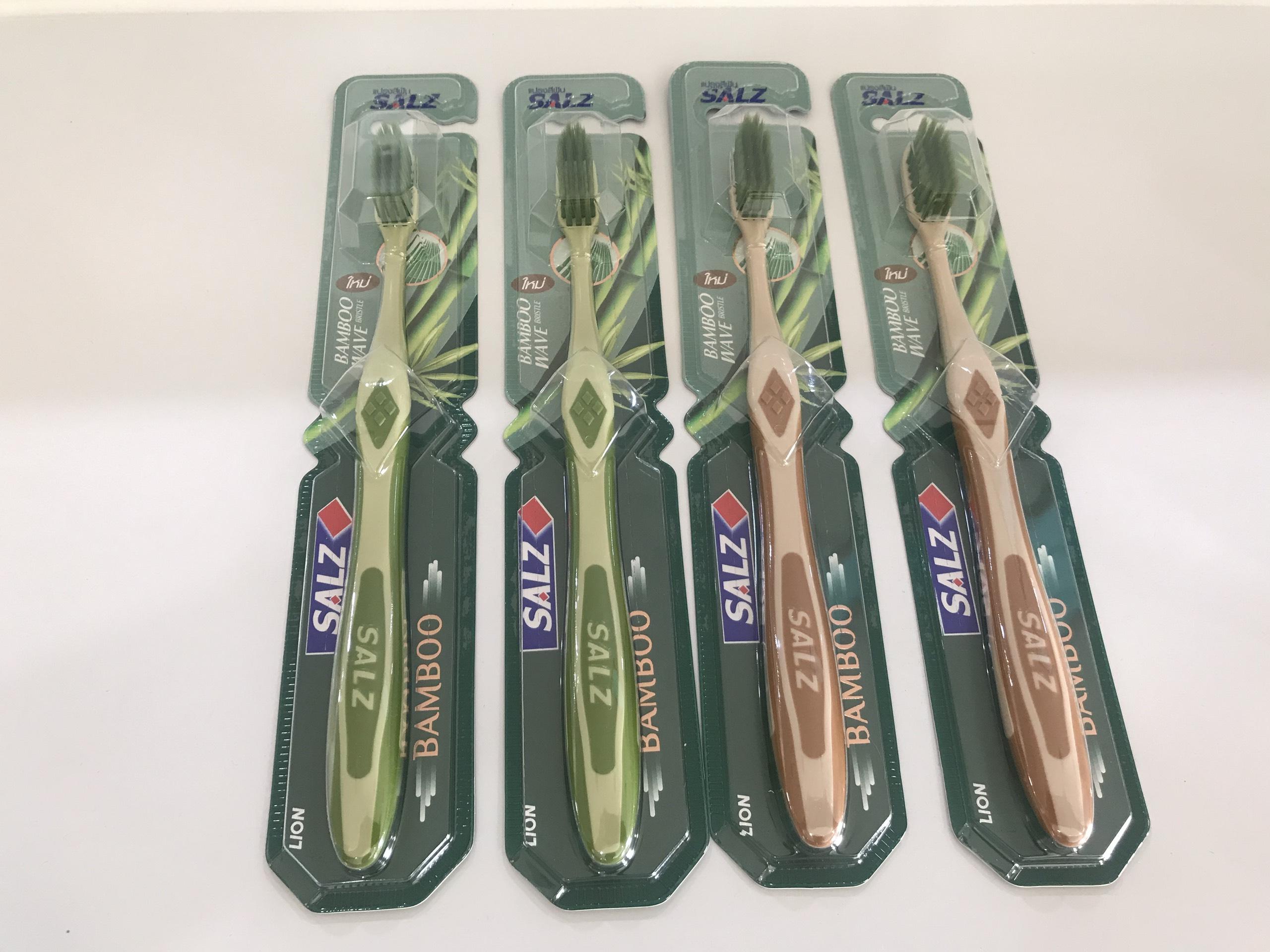 Bàn chải đánh răng salz bamboo (làm từ tre)