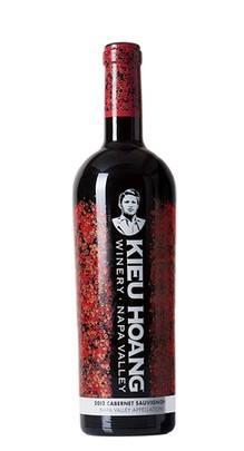 Rượu vang Kieu Hoang 2012 Cabernet Sauvignon Napa Valley Appellation (Kieu Hoang Red Label), độ cồn: 14,10%