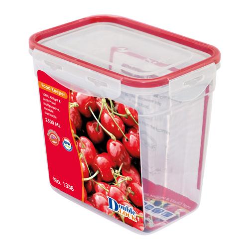 Hộp đựng thực phẩm Safe&Lock 2500ml hcn cao (13x18.8x17.8cm). Mã số: JCJ-1338