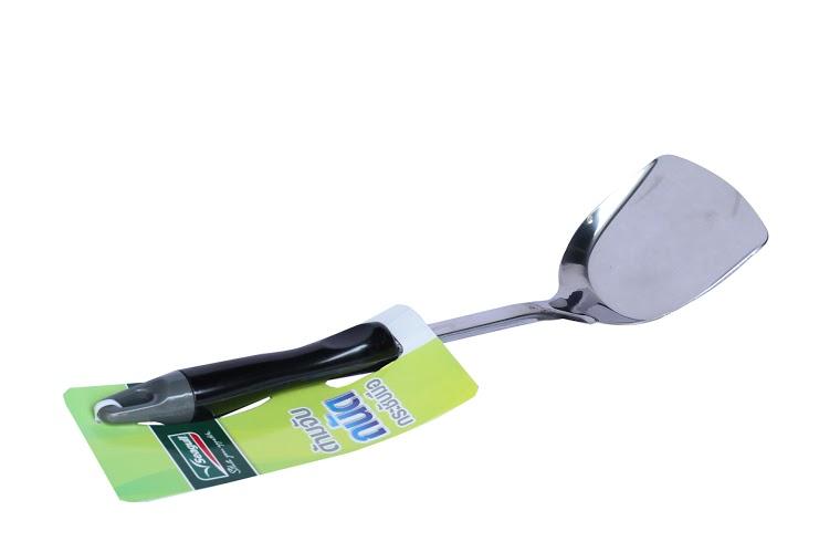 Vá Inox dùng để chiên xào (size S - 9.4x33.3cm) Mã số: 100304009
