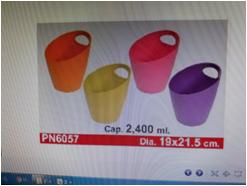 Xô đựng đá và làm lạnh rượu 2.4 lít (19x21.5cm) mã số :PN1046D-PS