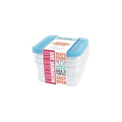 Tên hàng:Bộ hộp đựng thực phẩm hình vuông 300ml jcj-31321