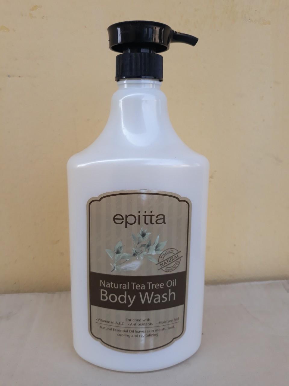 Sữa tắm dưỡng trắng da cao cấp Epitta (Hương trà xanh)
