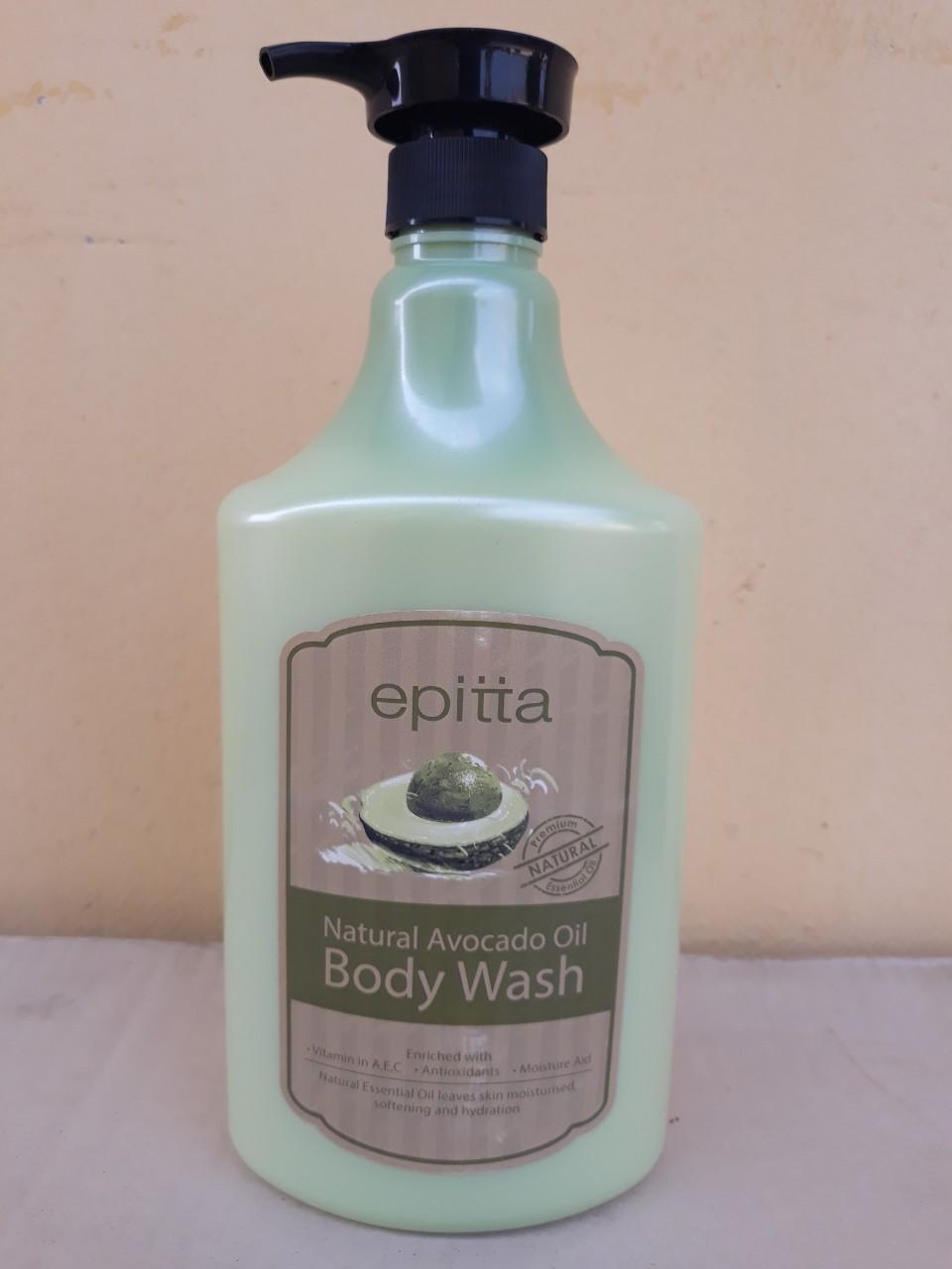 Sữa tắm dưỡng trắng da cao cấp Epitta (hương bơ)