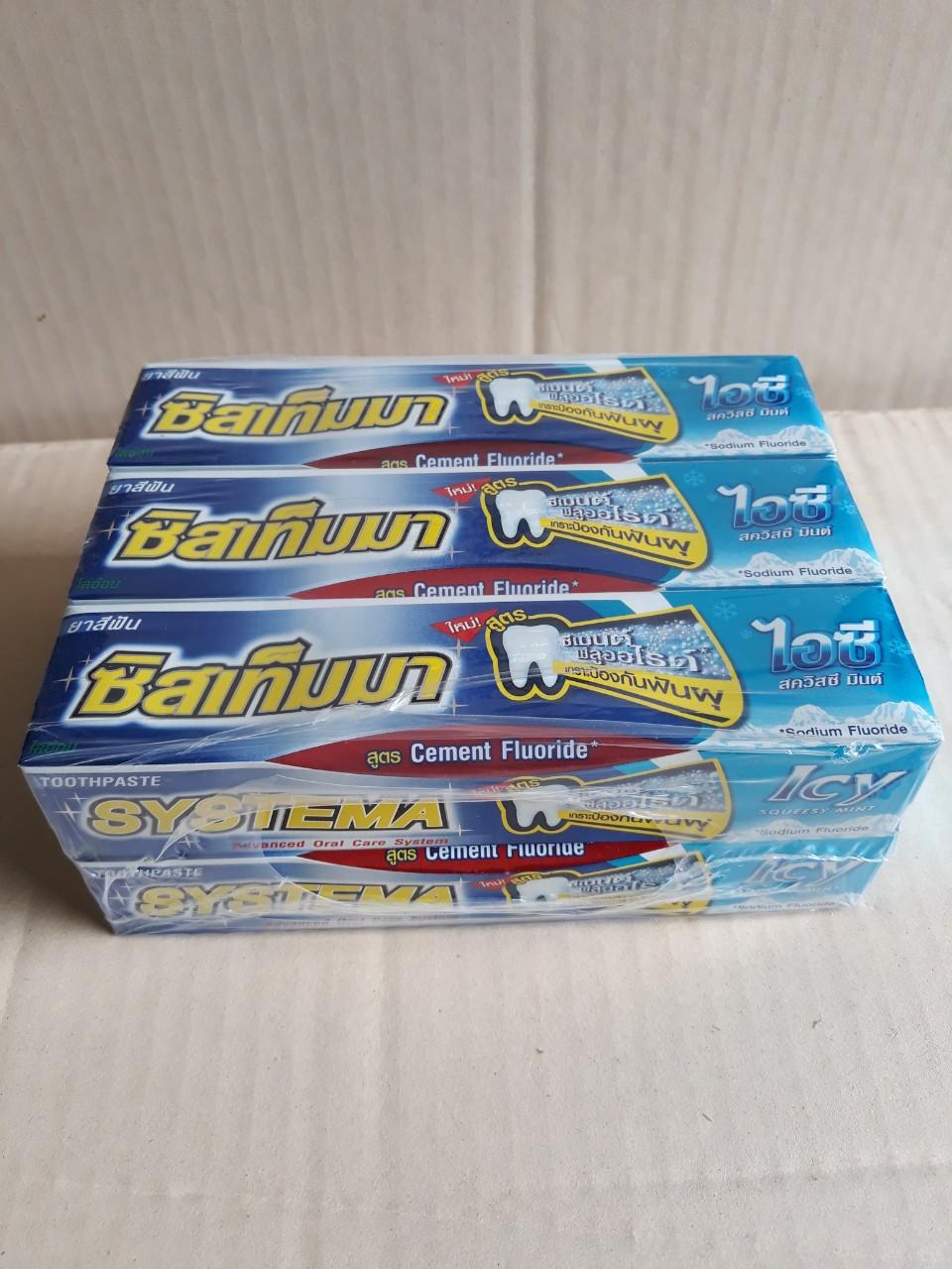 Kem đánh răng Systema 90g (Squeesy mint)
