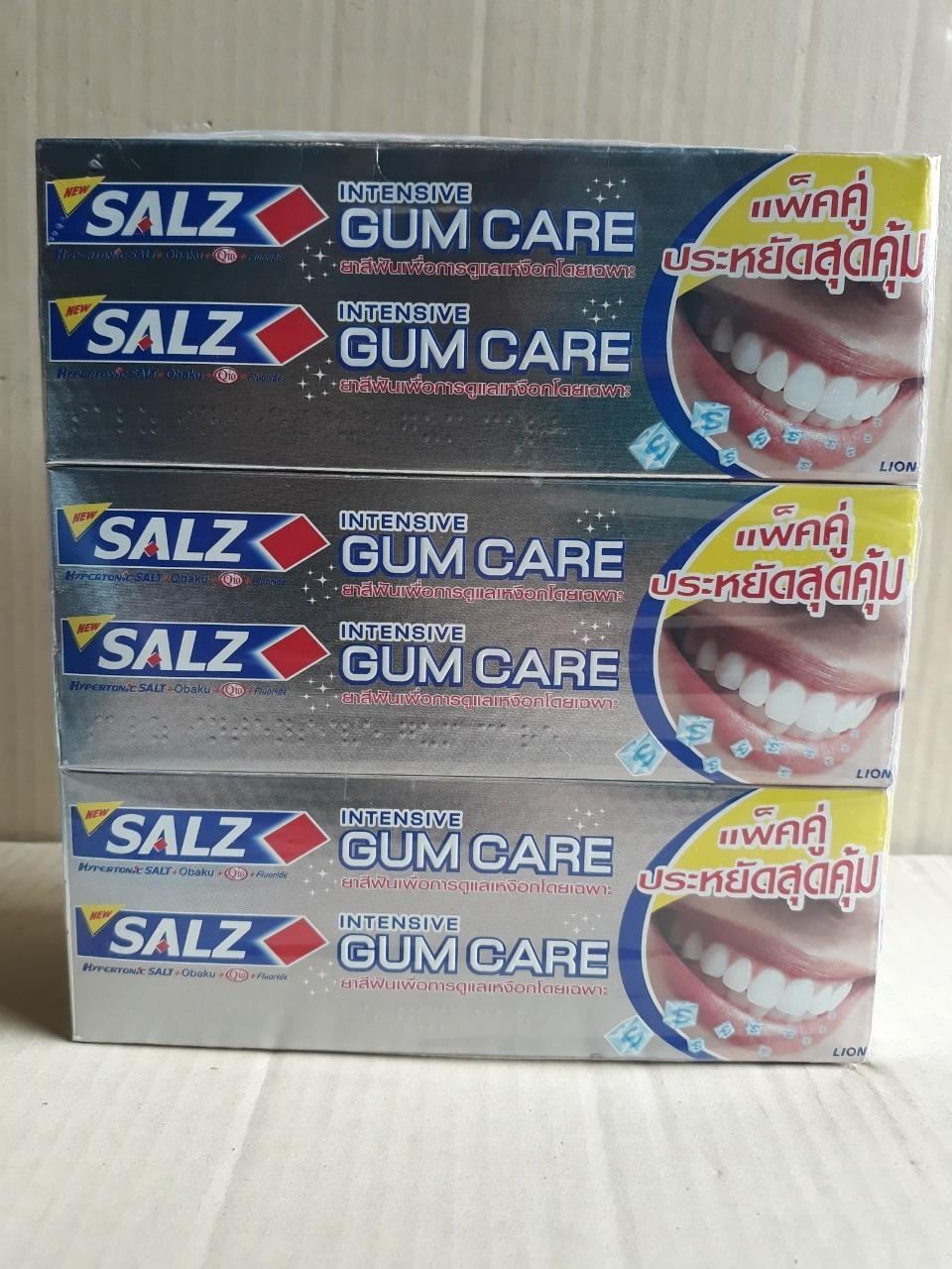 Kem đánh răng Salz 2 x 160gđậm đặc (gum care)