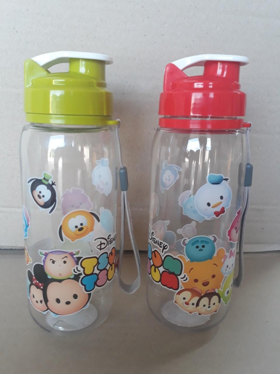 chai đựng nước tritan 550ml (có quai xách, 7x20cm), mã số: FZ-5237