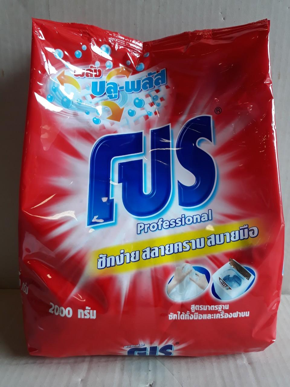 Xà phòng giặt Pro 2kg (blue plus - đỏ)