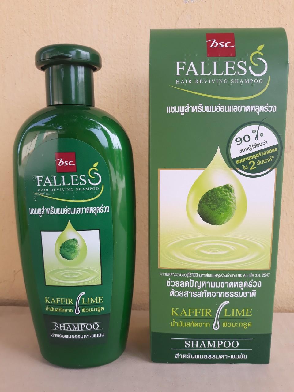 Dầu gội và xã tóc Falless 300ml (dùng cho tóc thường)