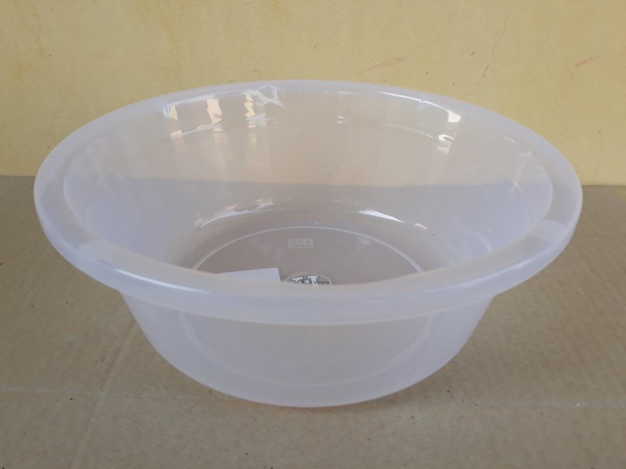 Chậu nhựa trong hình tròn 5L (30x11cm) JCJ-30CM