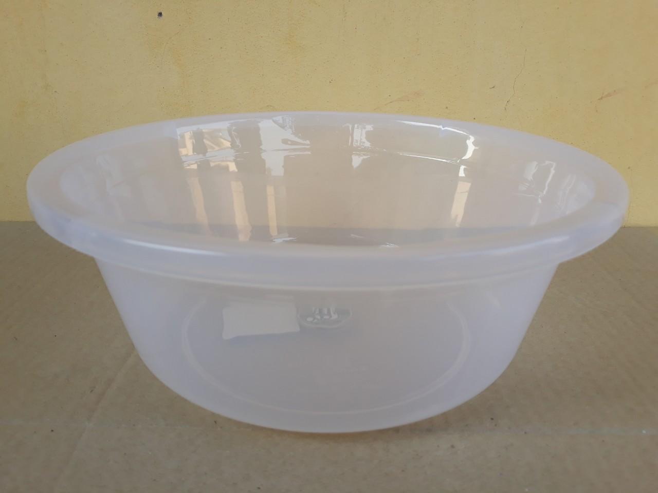 Chậu nhựa trong hình tròn 10.5L (40x13cm) JCJ-40CM