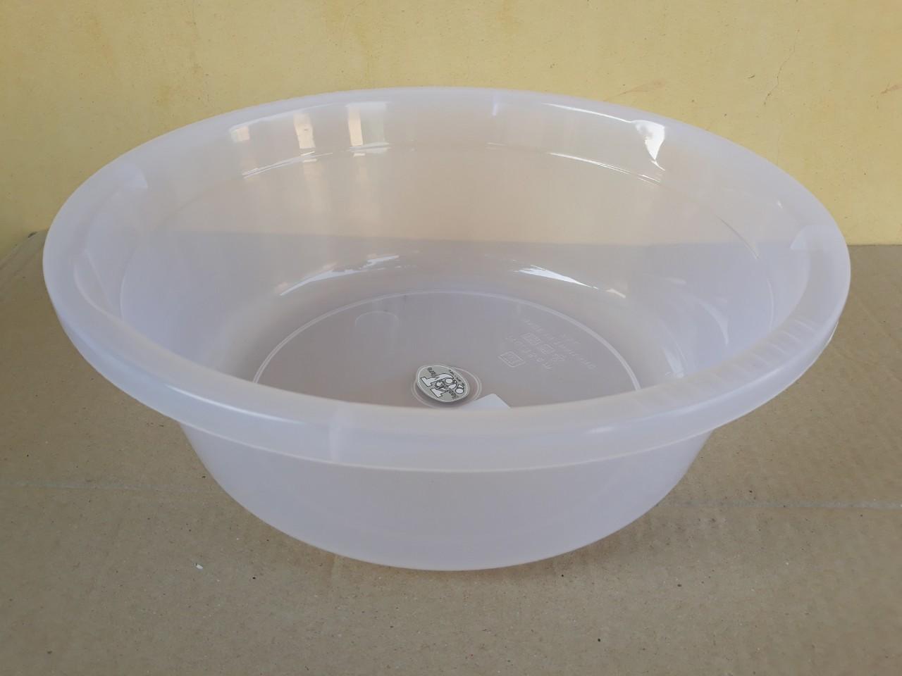 Chậu nhựa trong hình tròn 14.5L (45x14cm) JCJ-45CM