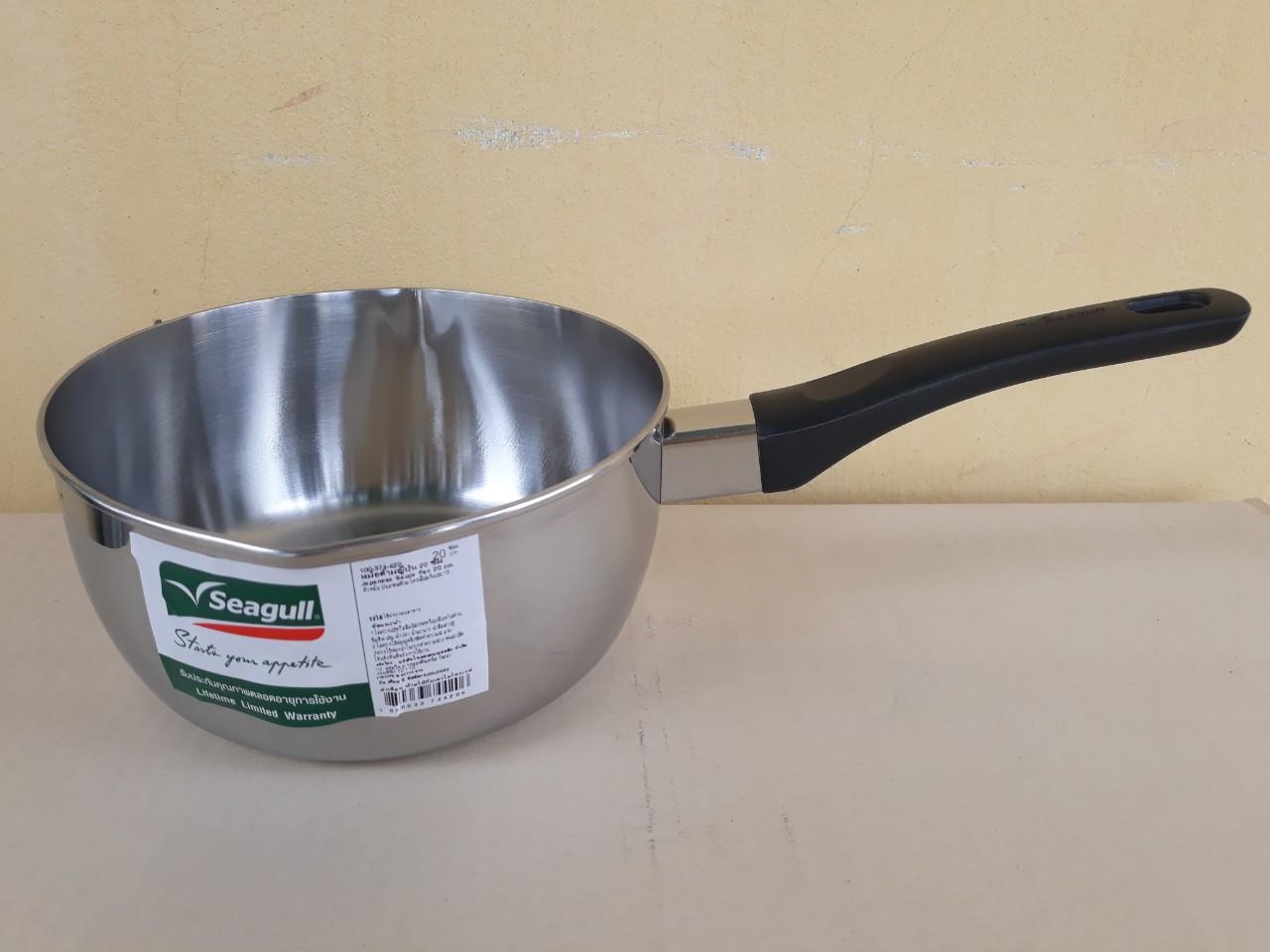 Nồi nấu có tay cầm không nắp seagull 20cm - 2.5 lít (Japanese) - dùng được cho bếp từ 100374420