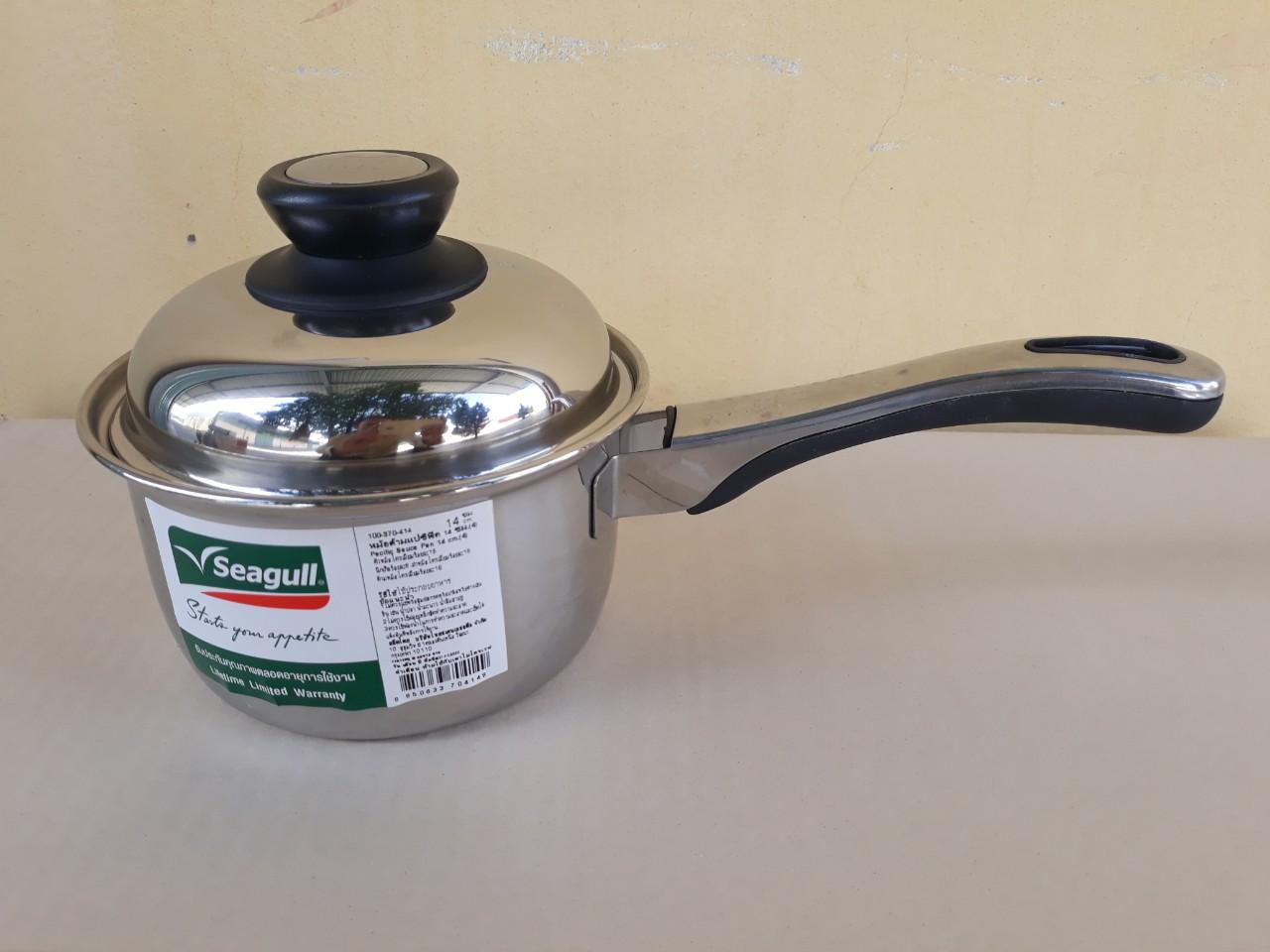 Nồi nấu có tay cầm có nắp seagull 14cm - 1.3 lít (Pacific) 100370414