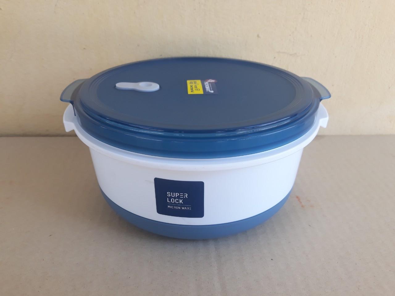 Bộ hâm, hấp thực phẩm trong lò vi sóng (20x9.7cm), Mã số: 6037