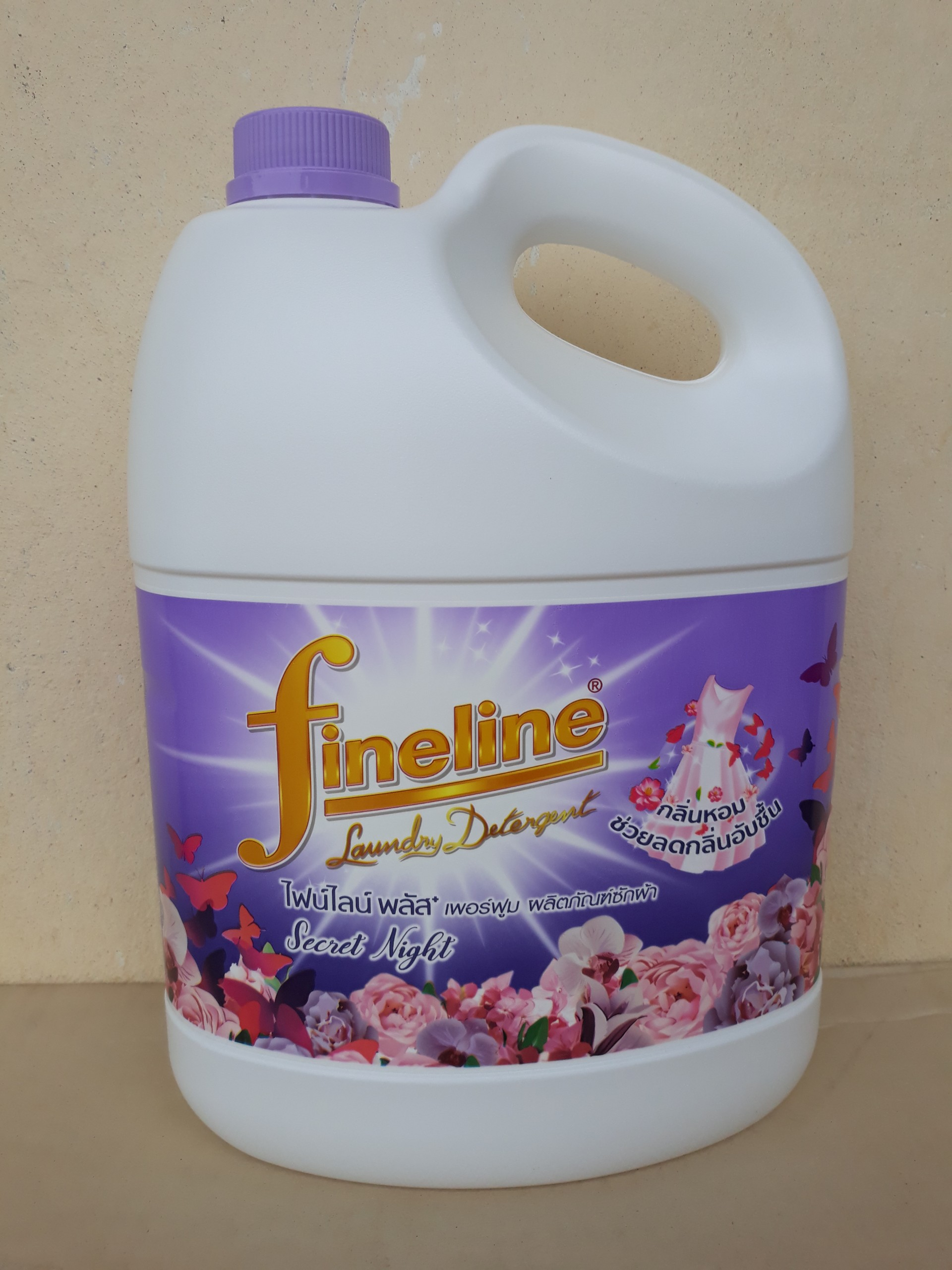 Nước giặt Fineline 3000ml (tím plus)