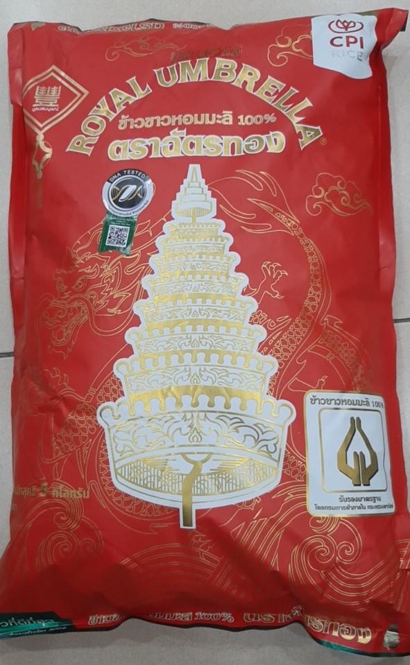Gạo thơm Thái Hom Mali Royal Umbrella 5kg